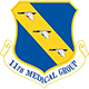 Logo: 11th Medical Squadron - Joint Base Anacostia-Bolling